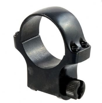 Ruger 5B30 Mount Ring - 30mm Blued Alloy HighHeight for upto 52mm scope lens - 90274
